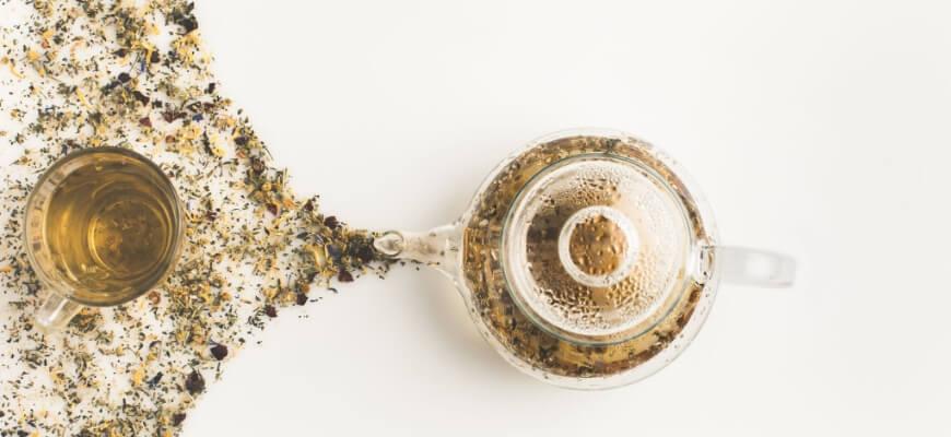 травяной чай йога