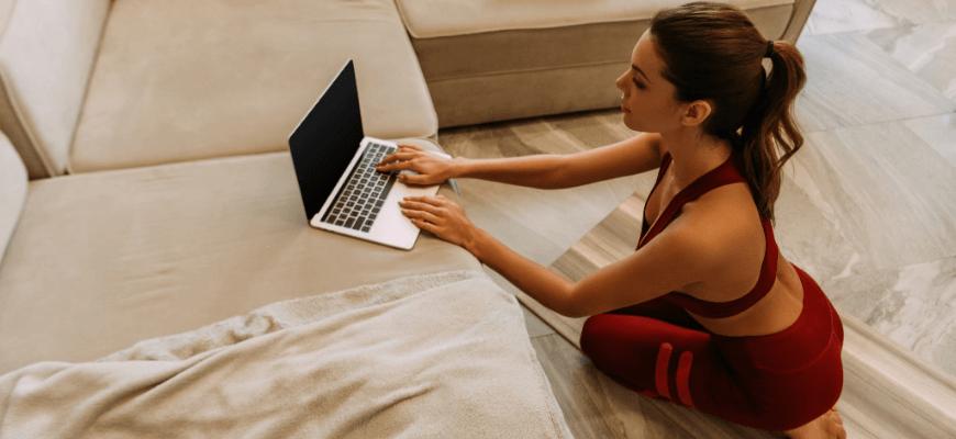 занятия йогой онлайн